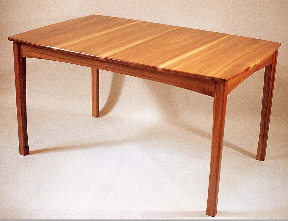 Expandable dining table, elm.