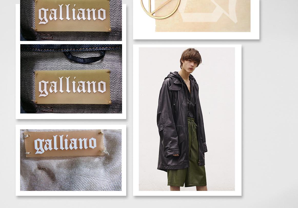 Galliano / Marquage produit