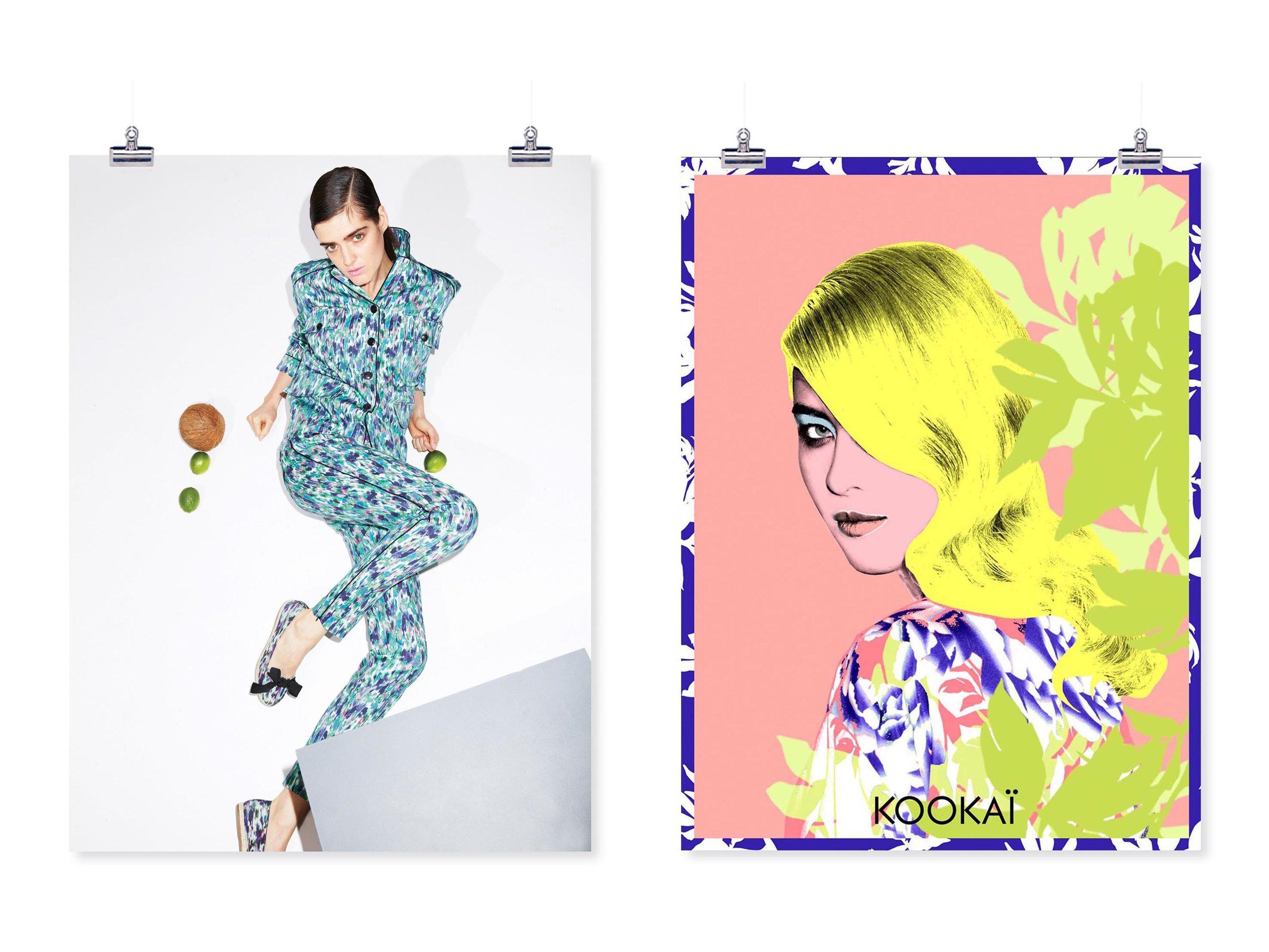 Direction de création sur la communication visuelle et le style / KOOKAI