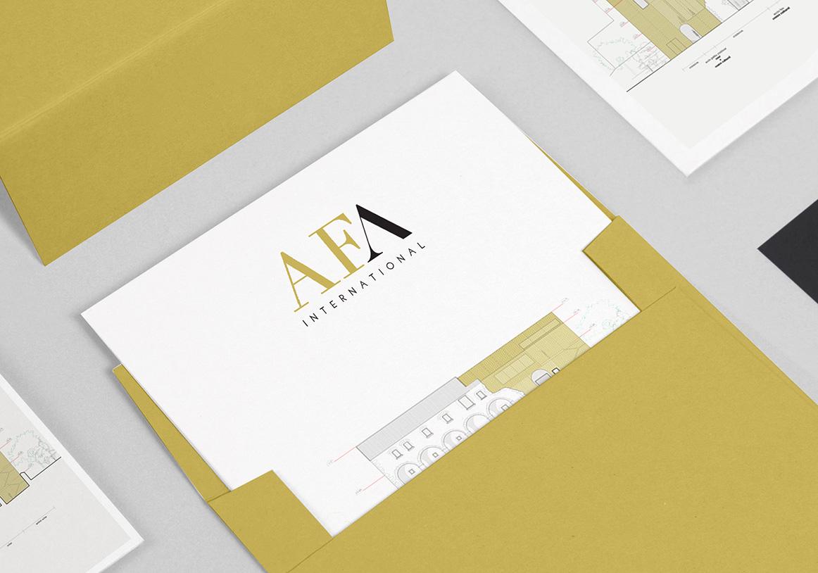 Création logo / AFA -Cabinet d'architecture-
