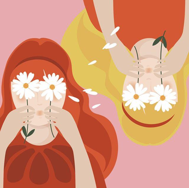 «Double je» ... dernier projet en duo ... 👩🏻🧔🏻——————————————————- indice: projet sur les droits de l'enfant.🌏💪🏼 #proud #duo #tandem #designergraphic #illustrationartists #illustrateurs #droitsdesenfants #freekids #flowerpower #identitevisuelle #artdirector #directionartistique #illustrateur #illustrateursjeunesse #illustrateursengagés #frenchtouch #girlpower #matieresapenser