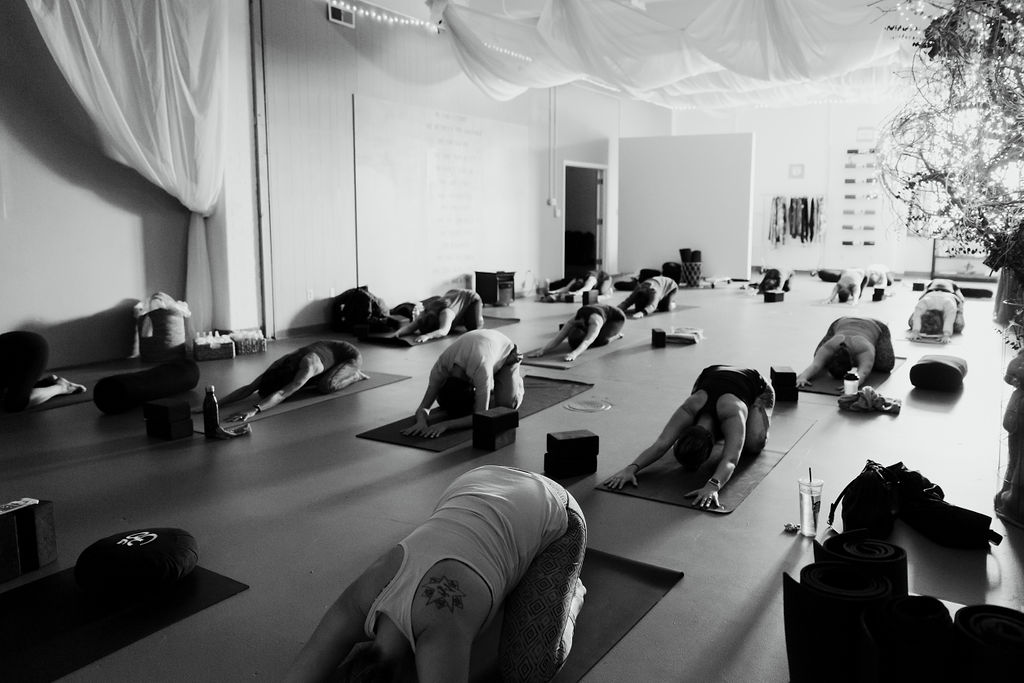 The yoga studio -