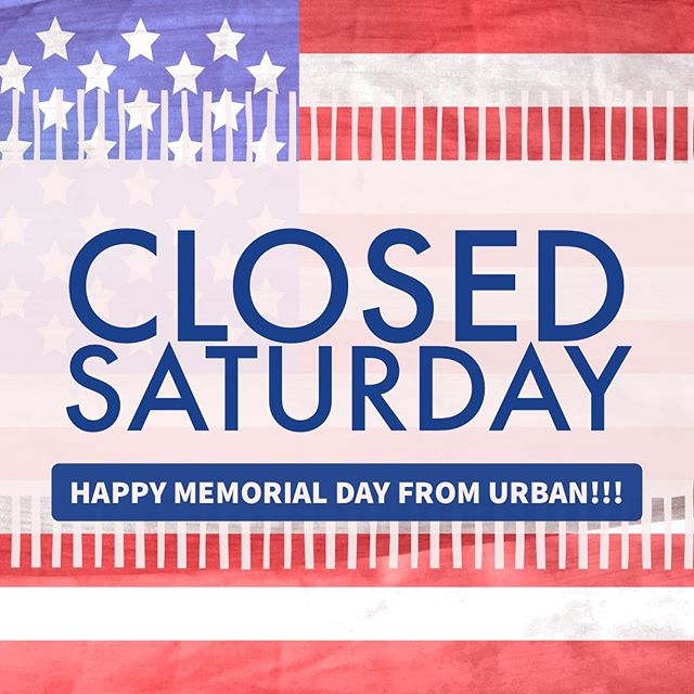 We will be closed 5/25 for Memorial Day weekend. We still have a few spots open for tomorrow if you need to get in before the holiday! Call (269) 276-9980 to reserve an appointment!
