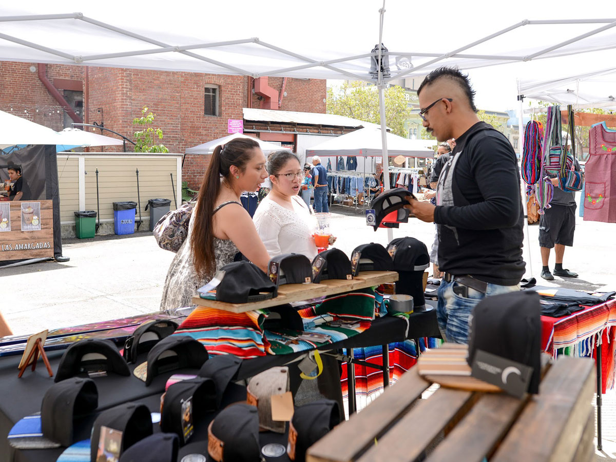 Mercado Latinx - Mercado Latinx is the Bay Area's first Latinx Pop-Up market, showcasing small, local Latinx arts, creators and way-makers.Learn More »