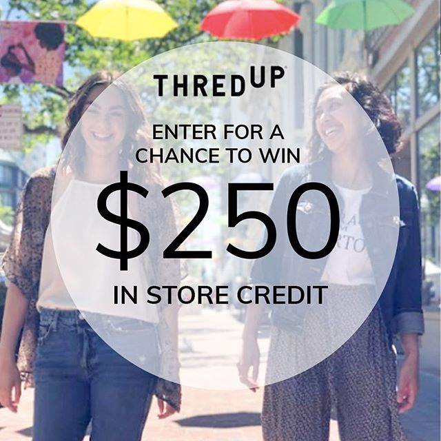 We're are counting down until Grand Opening Weekend at @thredup_irl with a GIVEAWAY! To enter: (1) like this photo. (2) follow @thredup_irl and @old_oakland;  and (3) tag a friend. Sweepstakes will end 06/14/2019 at 11:59 pm PST. Winner will be chosen at random and contacted by @thredup_irl via DM.  NO PURCHASE NECESSARY TO ENTER OR WIN. Must be 18 years or older to enter. Learn more at https://bit.ly/2quSgdc