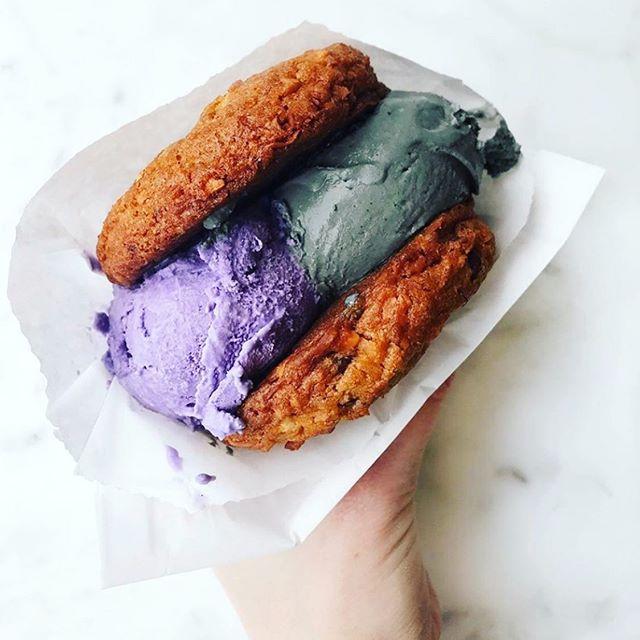 Seems like an ideal day for an ice cream sando from @cookiebarcreamery 🤤🍦🍪. . . . . . . . . #icecream #icecreamsandwich #oldoakland #sweettreats #summer #yum #oaklandloveit #keepitoakland