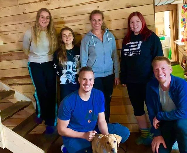 Husbandry workshop for a group of veterinarians yesterday at @happyhundesenter 👌😁 had the most beautiful demo dog! 😍 #dogsofinstagram #dog #k9handler #dogtraining #positivereinforcement #fearfree #husbandry #workshop