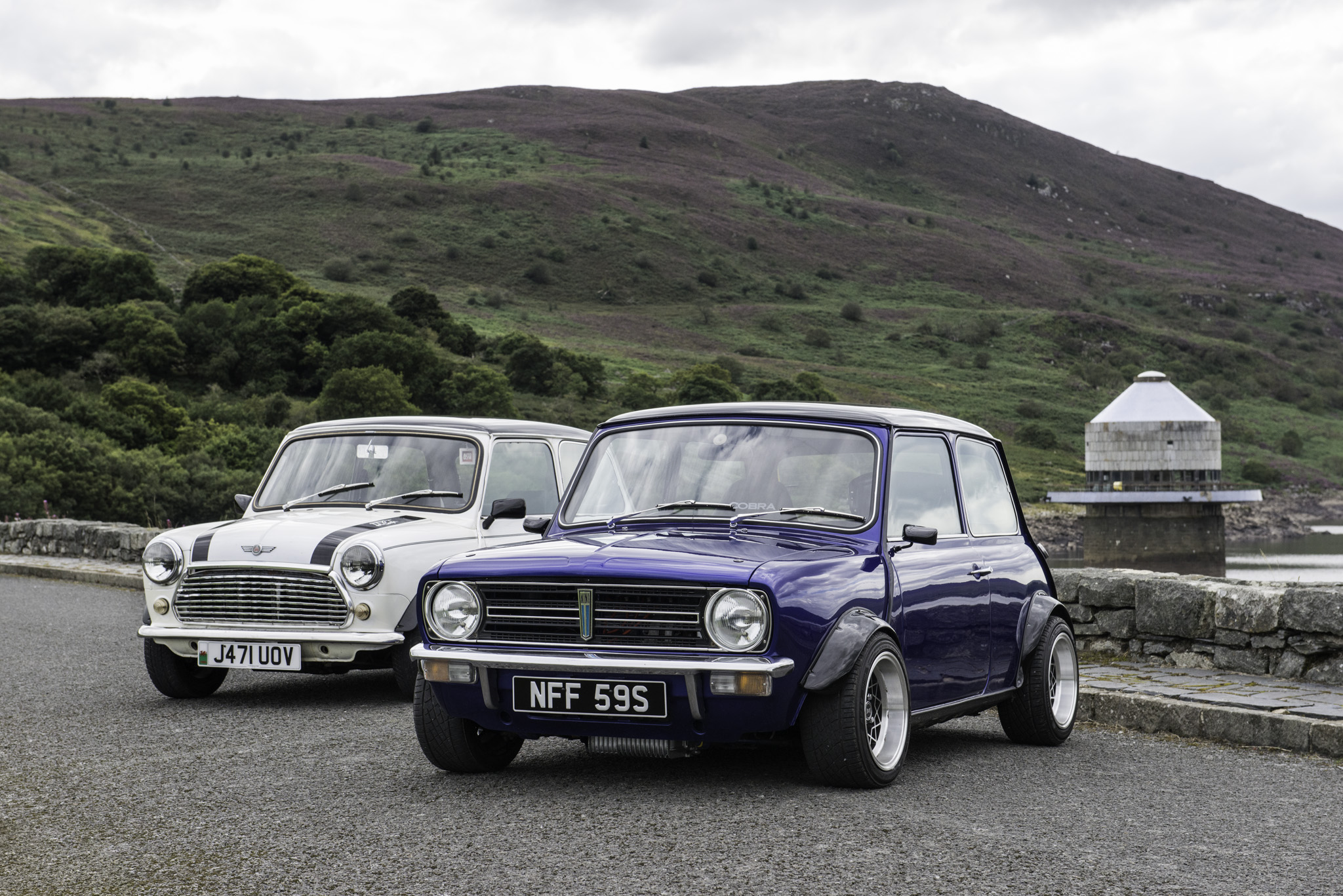 1992 ROVER MINI COOPER & 1977 LEYLAND MINI CLUBMAN  |  OWNER   - SAM EDWARDS  |  LOCATION   - LLYN CELYN