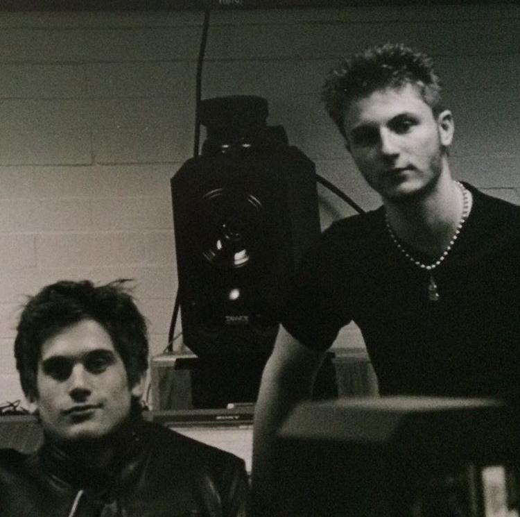 Recording Technology class - Grand Rapids Community College, circa 2003