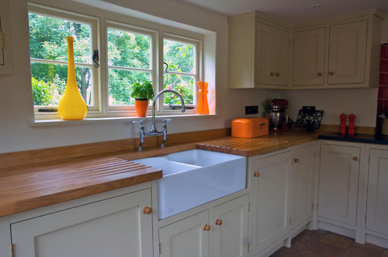 Farmhouse Painted Kitchen