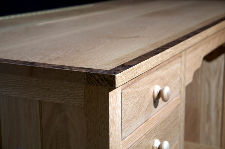 Oak commissioned desk