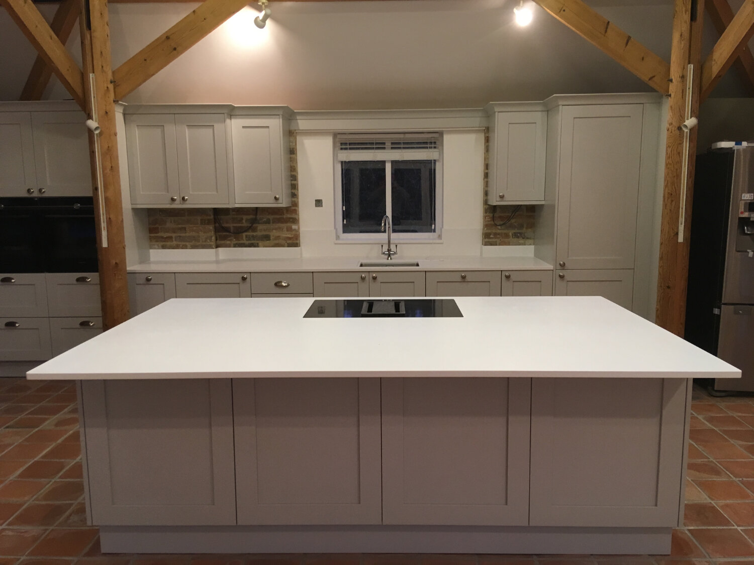Shaker Kitchen with Mistral fabricated worktops