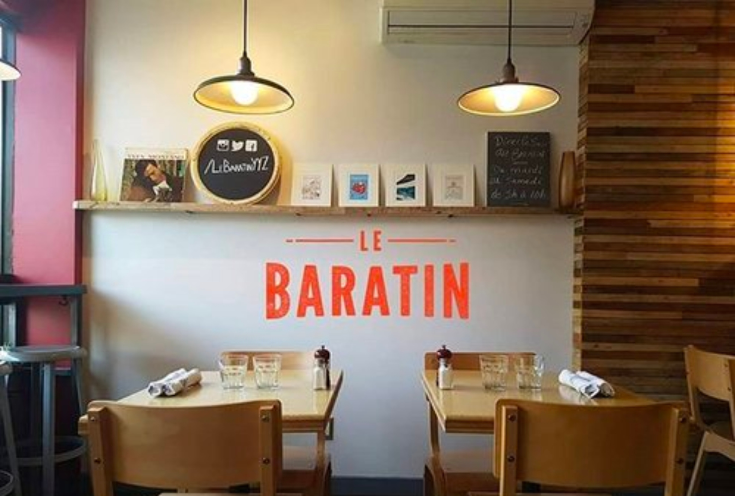 LE BARATIN - France is actually not that far. Now you can enjoy a taste of France at Le Baratin with a unique menu and an enchanting atmosphere.