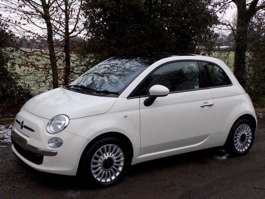£6,990 - Fiat 500 1.2 Lounge Hatchback