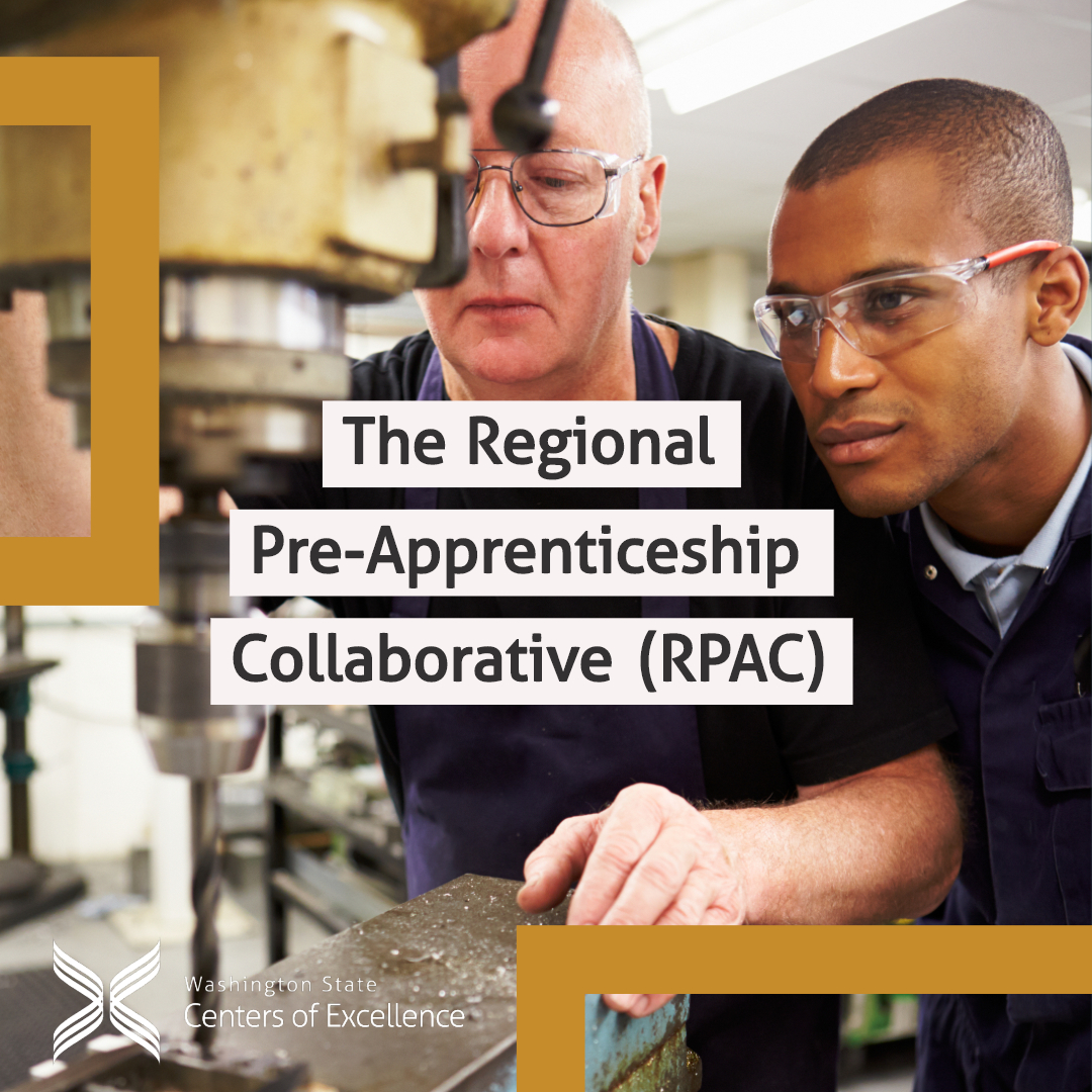 The Regional Pre-Apprenticeship Collaborative (RPAC) brings together apprenticeship programs, employers and educators to share best practices on the development of curricula and support structures needed for young people in underrepresented communities to be successful.