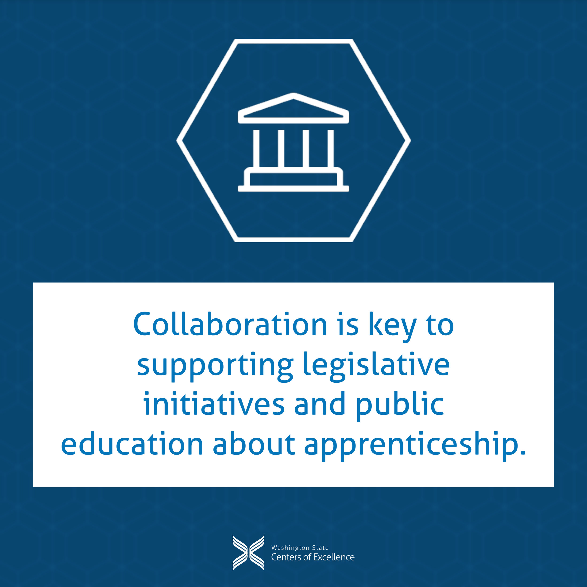 """""""Collaboration is key to supporting legislative initiatives and public education about apprenticeship"""""""