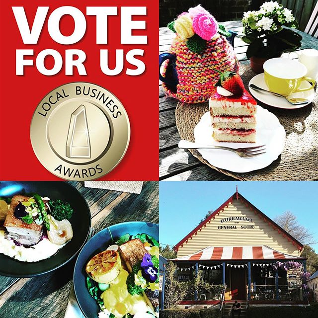 If you like what we do, we would really appreciate your support in our Local Business Awards. You can vote via the link in our profile 😊 #awardseason #localbusinessawards2019 #burrawanggeneralstore #burrawang #visitsouthernhighlands #southernhighlands