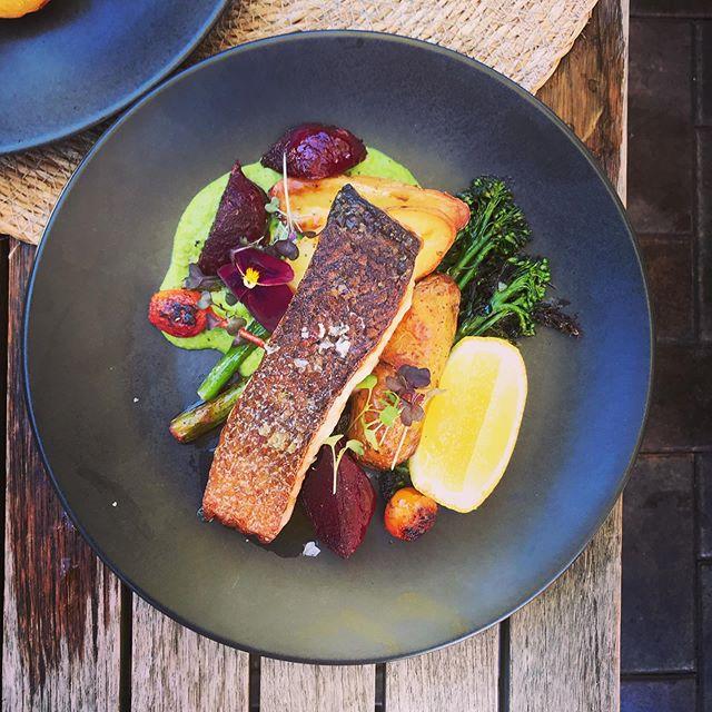 Special today... crisp skinned salmon #burrawangvillage #burrawang #burrawanggeneralstore #southernhighlands #visitsouthernhighlands