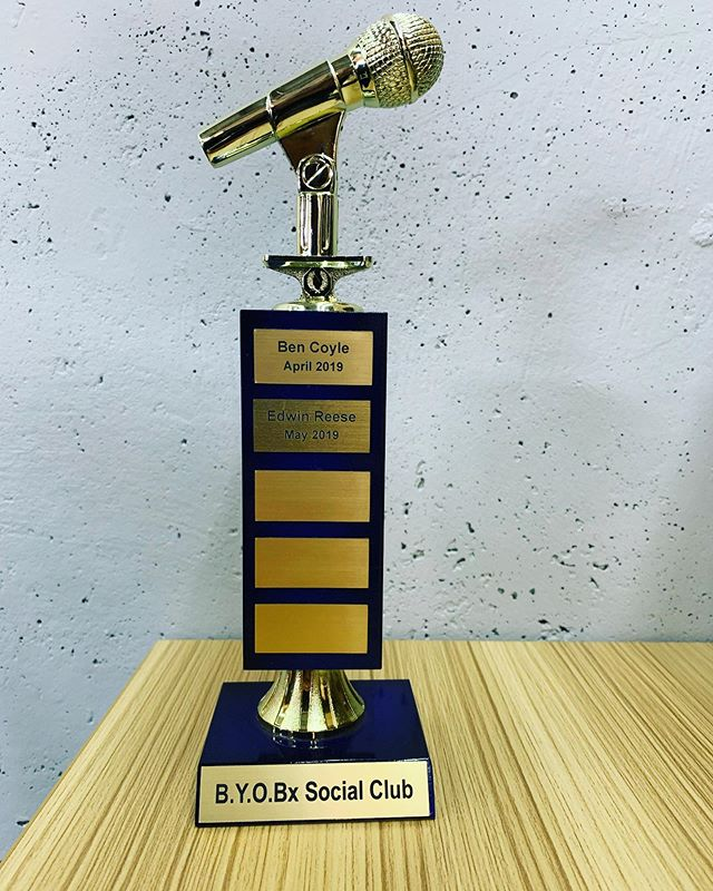 Who is the next name on the converted BYOBx trophy?? It's almost more valuable than real gold I'm told...