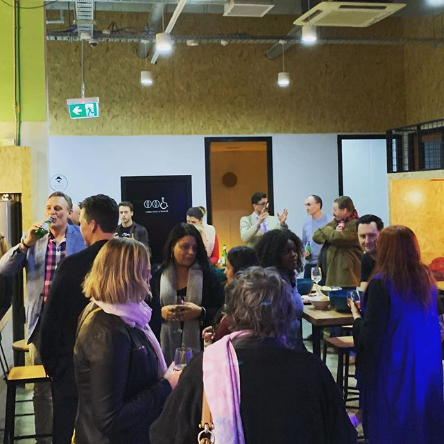 Rocking night at BYOB Friday drinks with some top quality pitches, company, catering and beverages! Thanks for all the support and friendship people :)