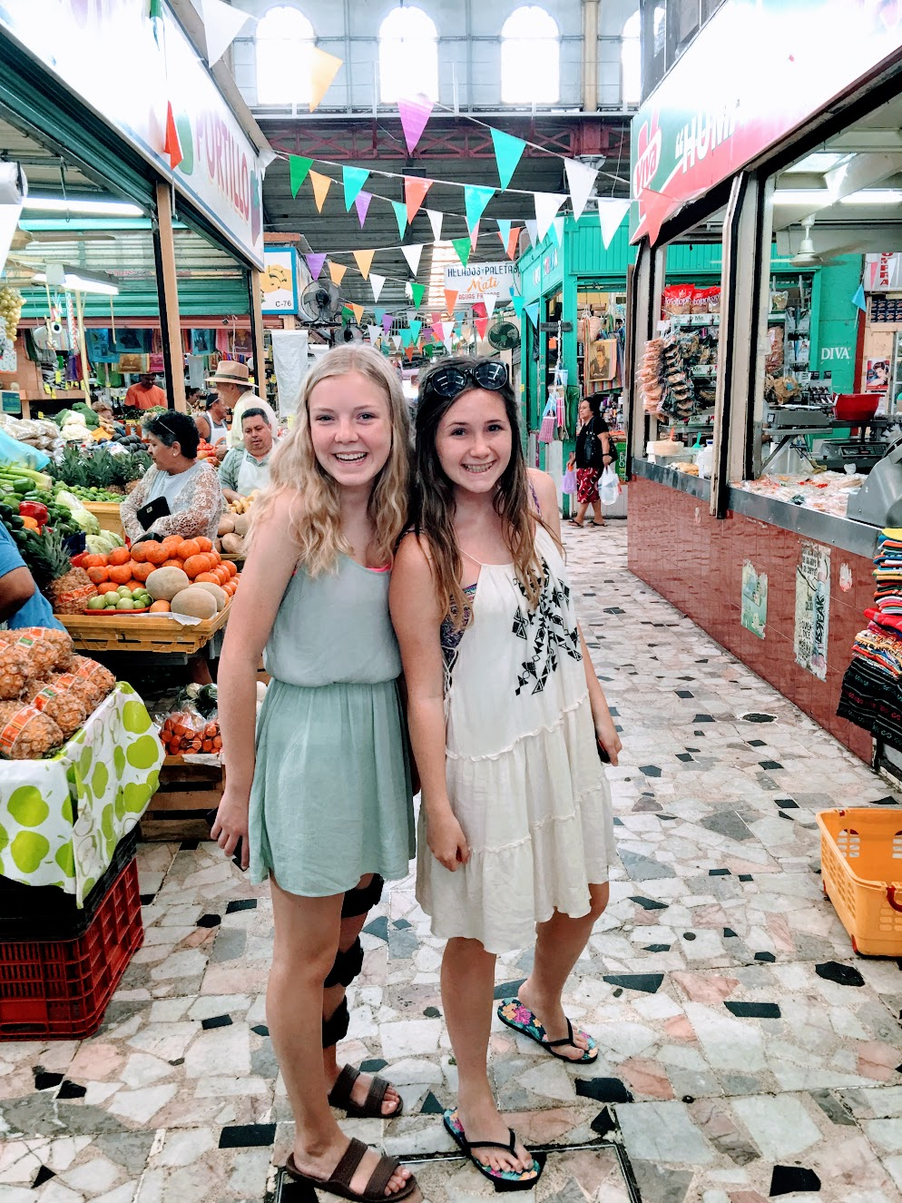Exploring shops in Mazatlan