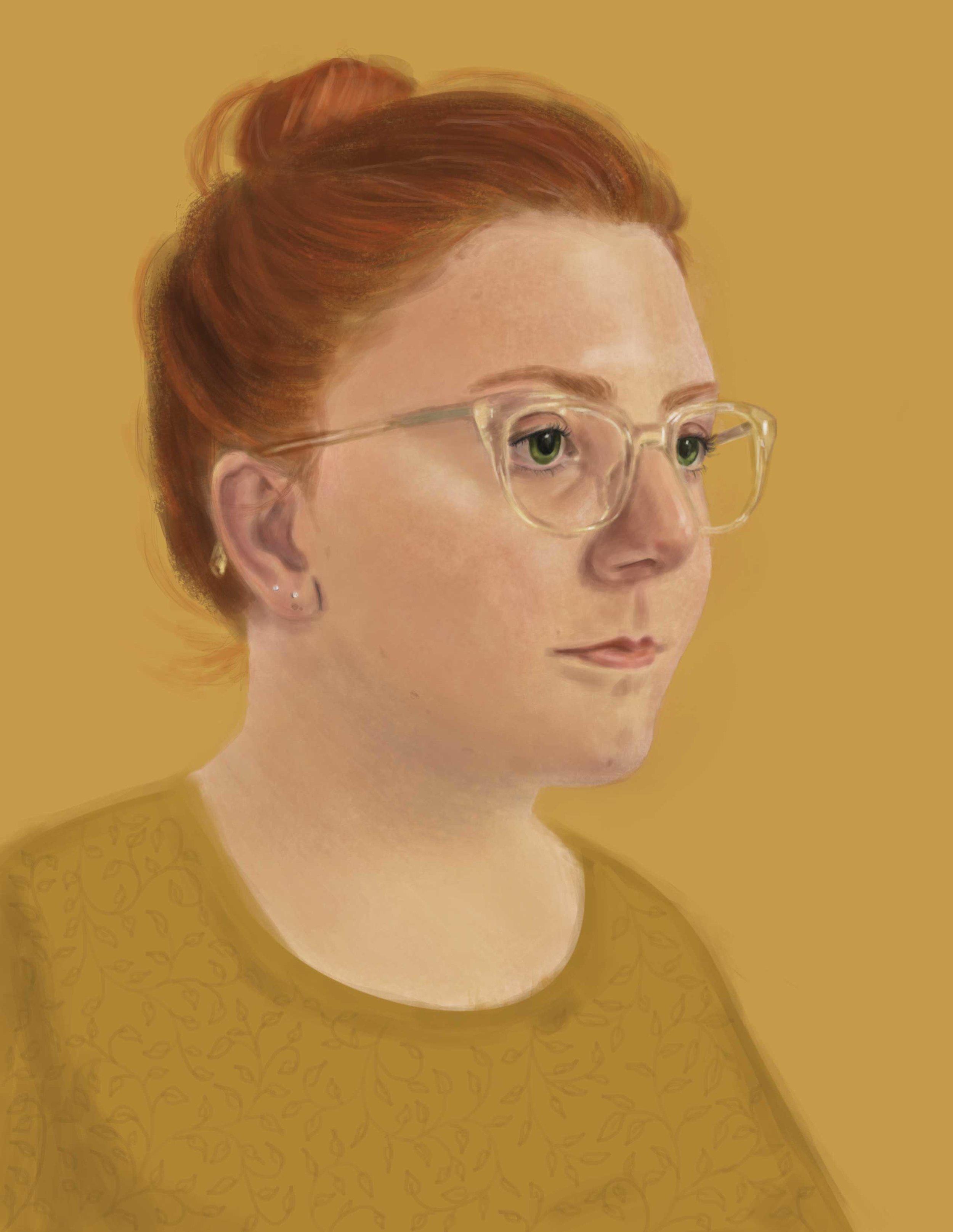 Self-portrait, 2019