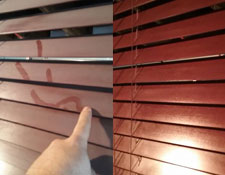 Hate Germs? Blinds Are Loaded With Germs - Dirt, dust, pollen, animal dander, and other airborne particles will accumulate on your blinds without regular cleaning and can be easily disturbed every time you open or close your window treatments. This can affect indoor air quality, exacerbating conditions such as allergies and asthma. Let us help you! Call us today!