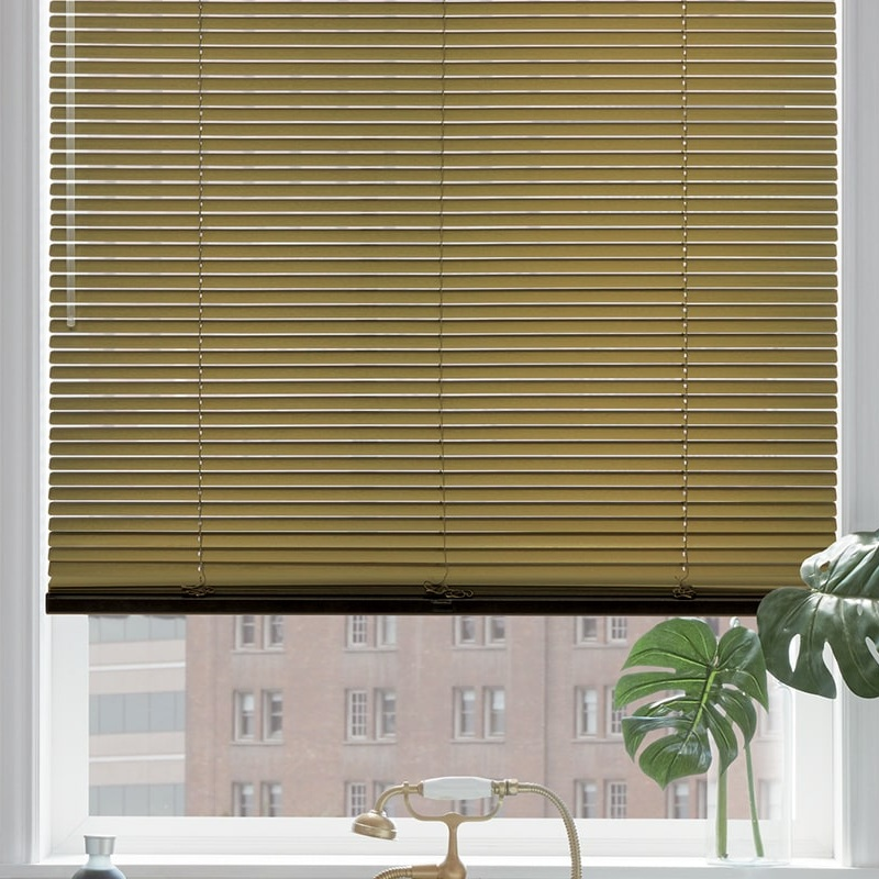 """Modern Metals - Aluminum Blinds have never looked so good! These are NOT the old fashion, outdated """"mini"""" blinds, that are no longer desired. These metal blinds are made with the finest & most beautiful precious metals!"""