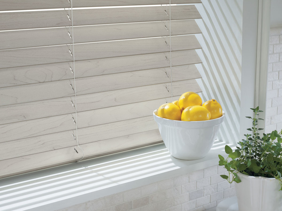 AlternativeWood Blinds - This smart alternative to wood blinds has classic good looks that don't age.