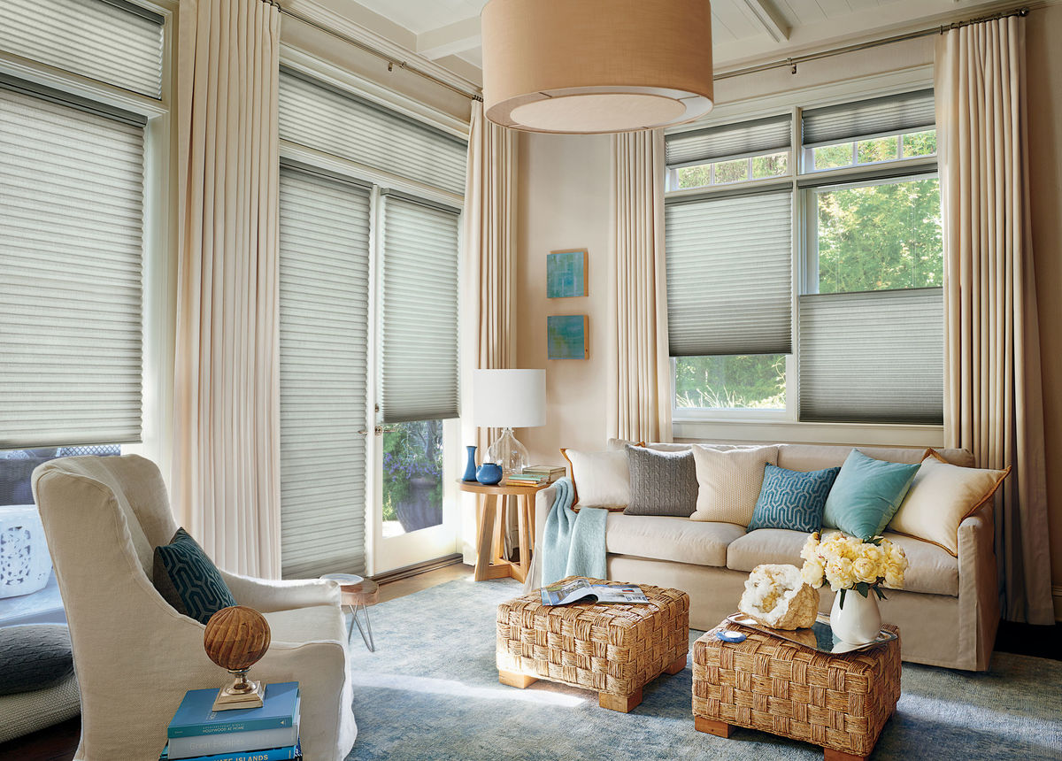 Honeycomb Shades - Duette® Honeycomb Shades are the original cellular shades, specifically engineered to provide beauty and energy efficiency at the window in both cold and warm climates.