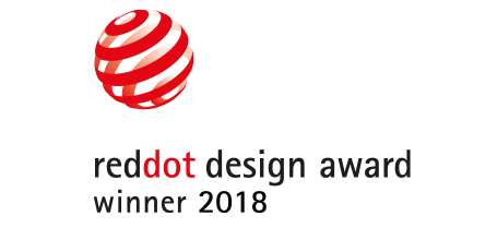 Red Dot Design Award Winner 2018 - Good design comes with a seal of approval —the Red Dot Product Design Award. It's a highly desirable industry award, and both our PowerView® Hub and Repeater earned it in 2018.