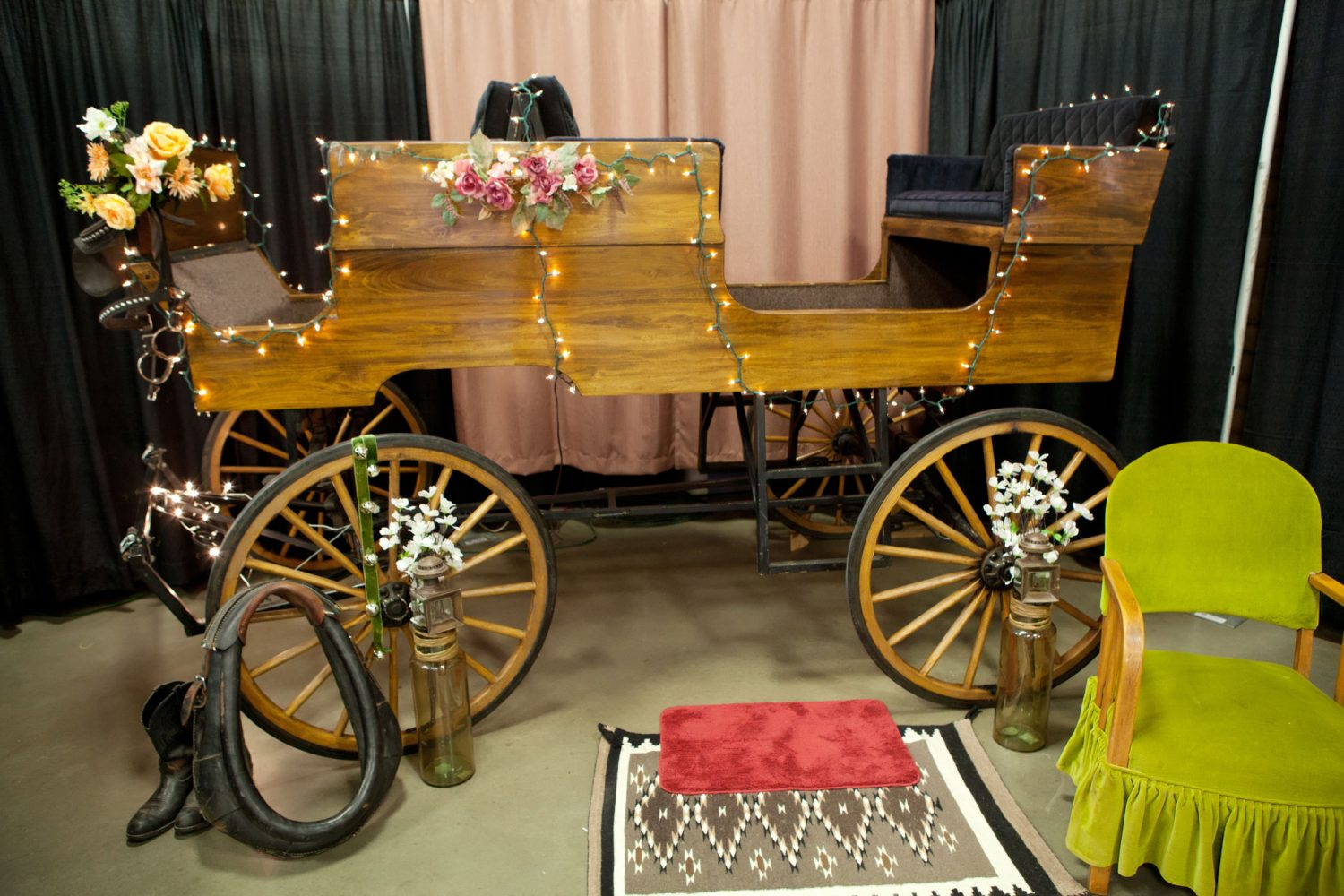 No detail left undone, we customize our carriages to suit your look.