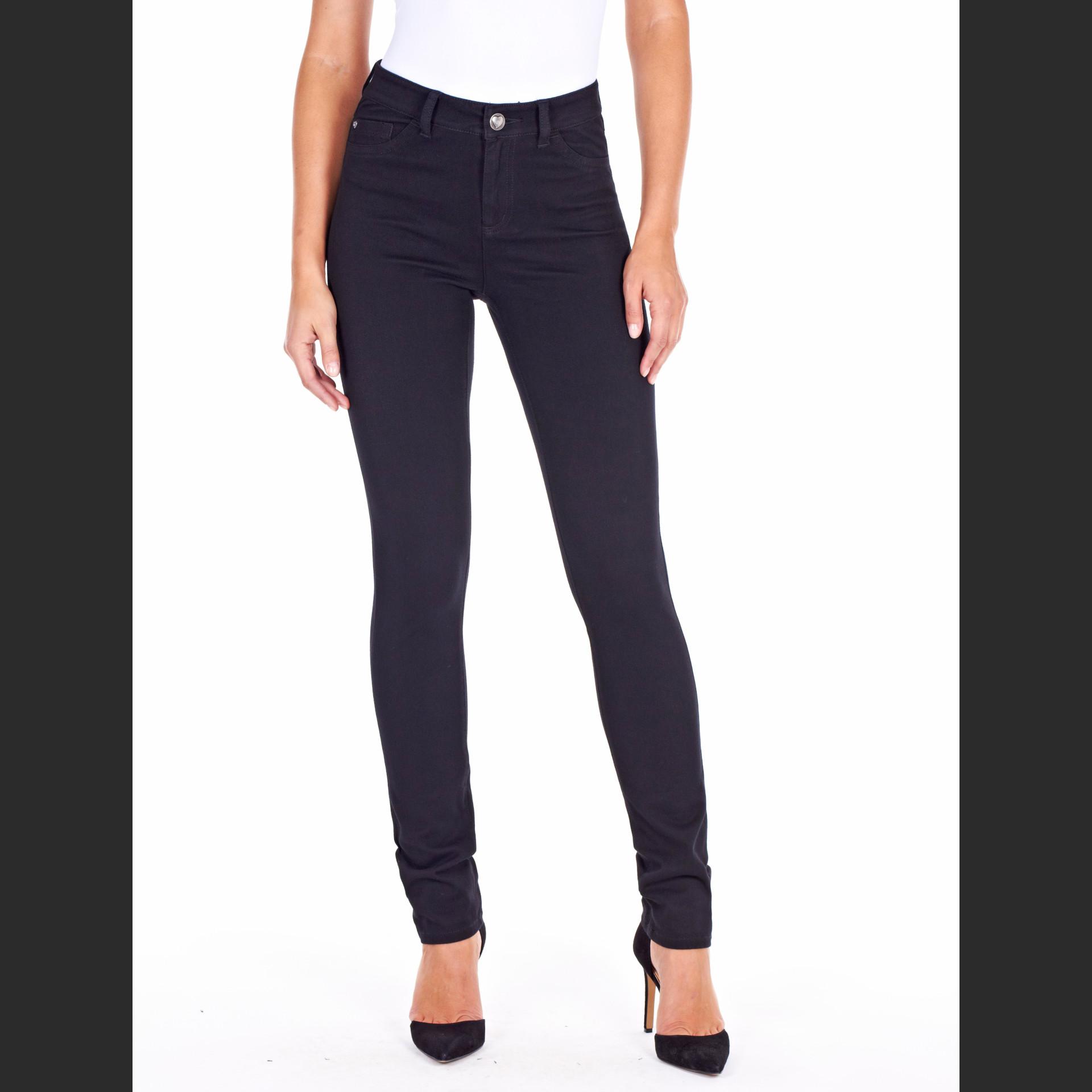 Olivia Slim Leg Black