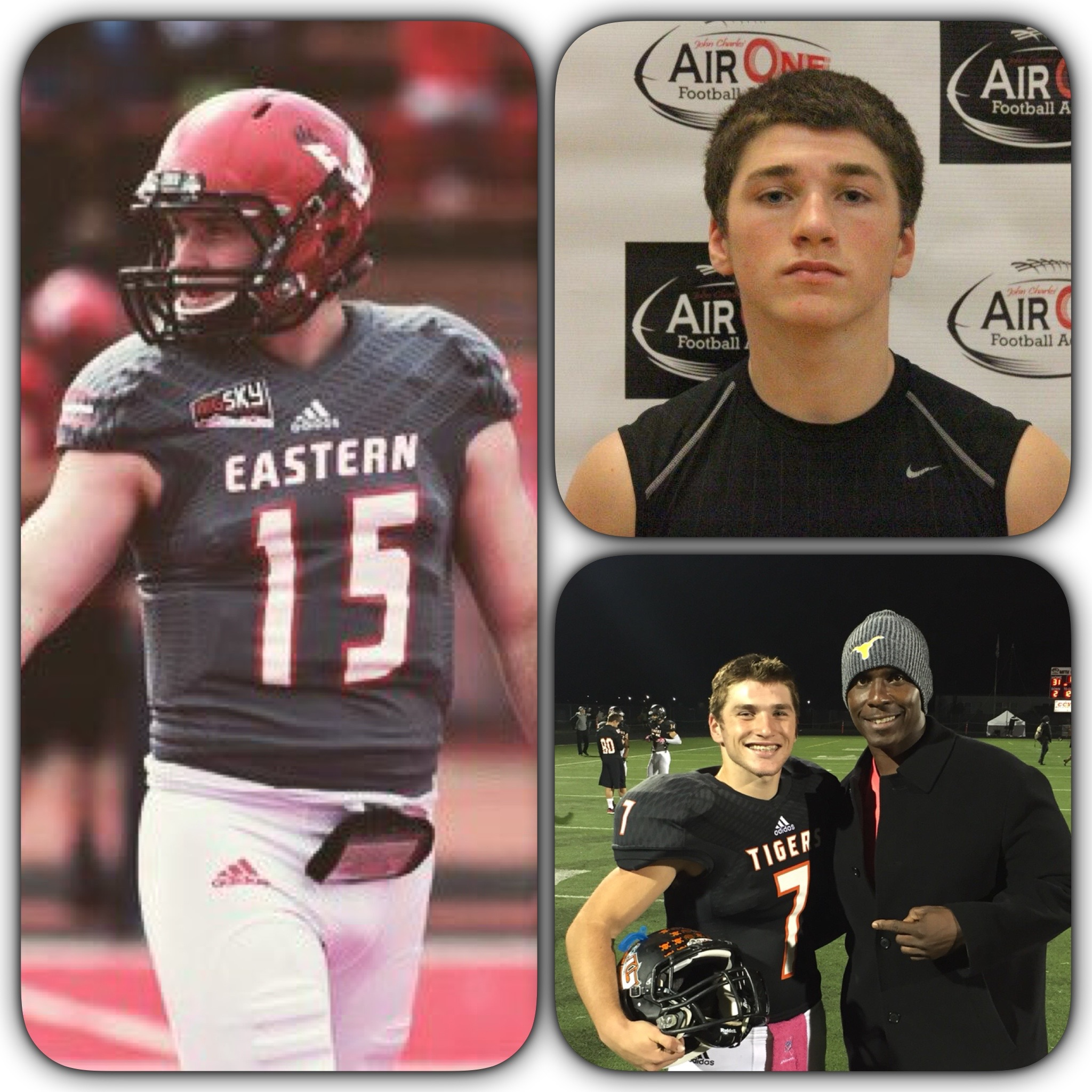 GUNNER TALKINGTON- BATTLE GROUND HS- EASTERN WASHINGTON
