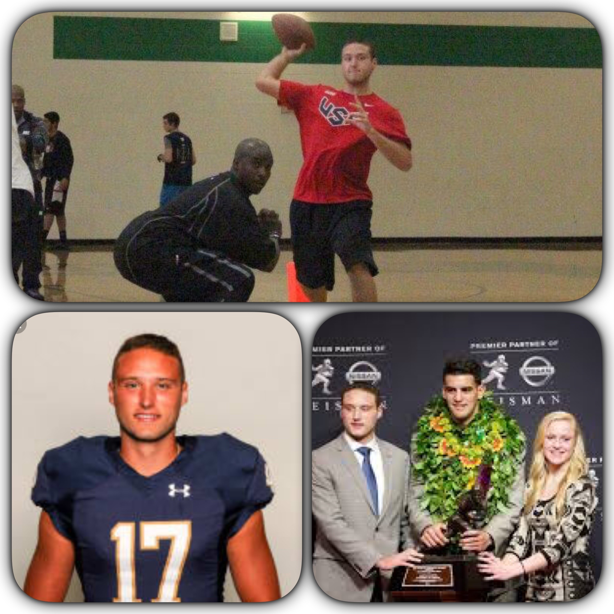 NOLAN HENRY- UNION HS (HIGH SCHOOL HEISMAN) - NOTRE DAME