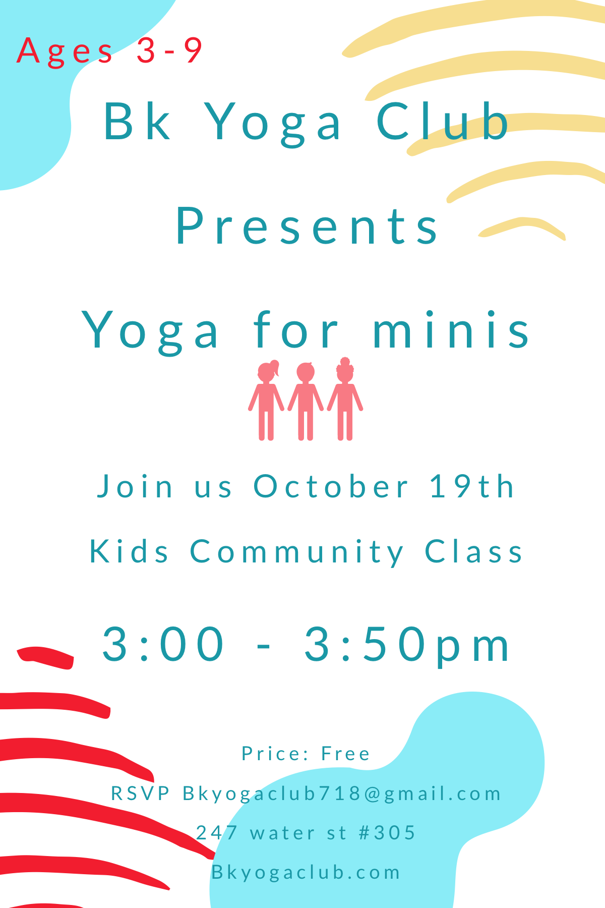 Bk Yoga Club Kids Yoga Class