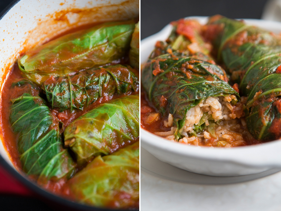 Cabbage rolls by the Minimalist Kitchen