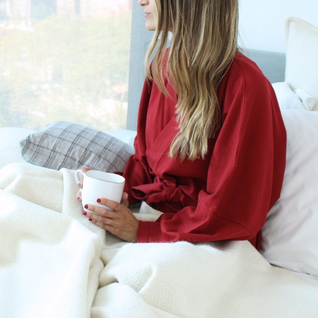 A cozy bathrobe - These kimono-style robes aren't just extremely cozy, they're also fair trade and organic! Under the Canopy makes these bad boys in nine different colors so you're sure to find one that your mom will love!Budget pick: PACT's three-quarter sleeve robes are super soft and made from 100% organic cotton.