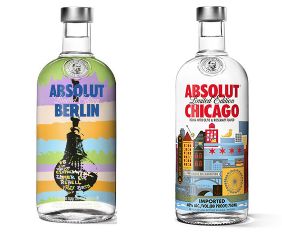 Absolut cities | Absolut - Absolut needed to find a way to take shelf space back with so many vodkas competing for space.We helped identify the differentiating factor for Absolut... social credibility. That led to a completely unique product line based on the sociability of great cities.