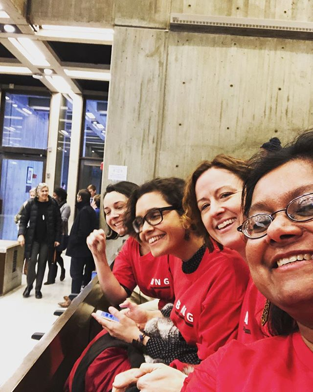Some kickass Boston Globe reporters are at the Boston City Hall right now to support resolution of guild efforts for fair contract. ✊🏻✊🏽✊🏿 #faircontractsmatter