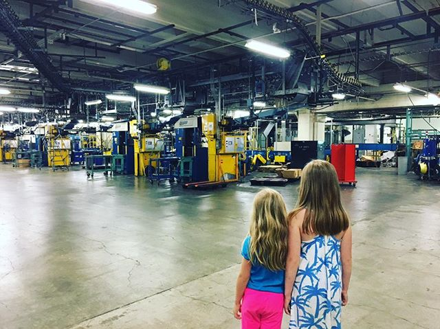 """""""These are my daughters saying goodbye to the old Globe plant in Dorchester in June 2017. All three of us were emotional that day; it felt like leaving a beloved second home. I assured them that the heart of the place was the people: the smartest, funniest, hardest working, most loyal and ambitious people I have ever known. It hurts to see how their morale and optimism suffers with the prospect of an unfair contract."""" — Jenna Russell, reporter, author, former Spotlight member"""