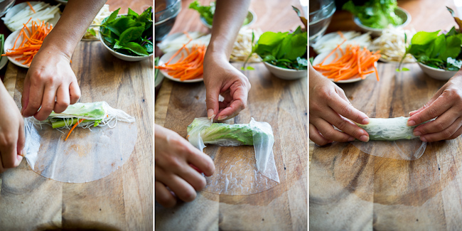 School Holiday Kids Activity - Make Rice Paper Rolls - Let Nu Bambu's Head Chef Freddie teach your child how to make chicken and veg rice paper rolls.