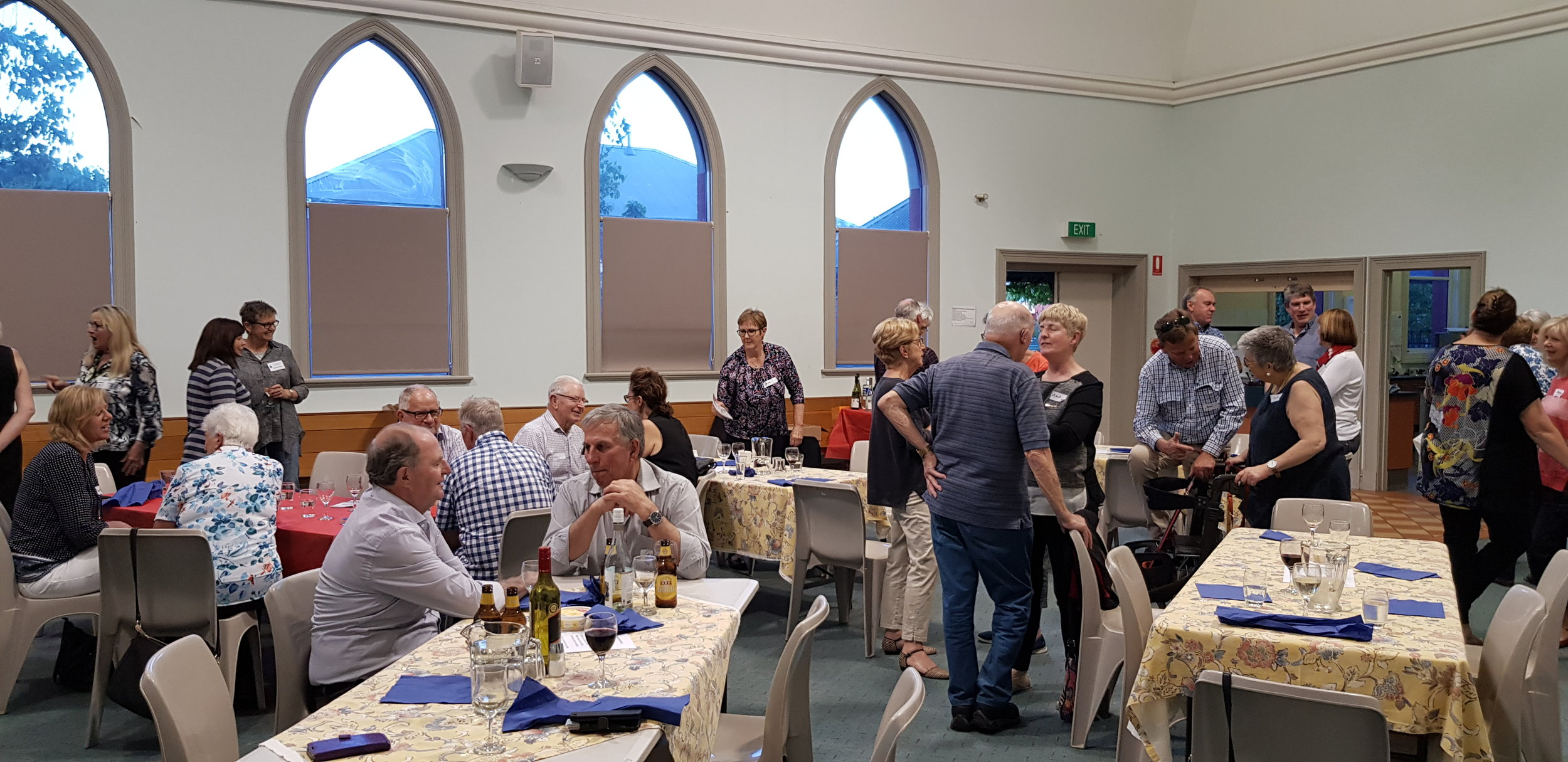 """Ice breaking"" at BETA evening October 2018"
