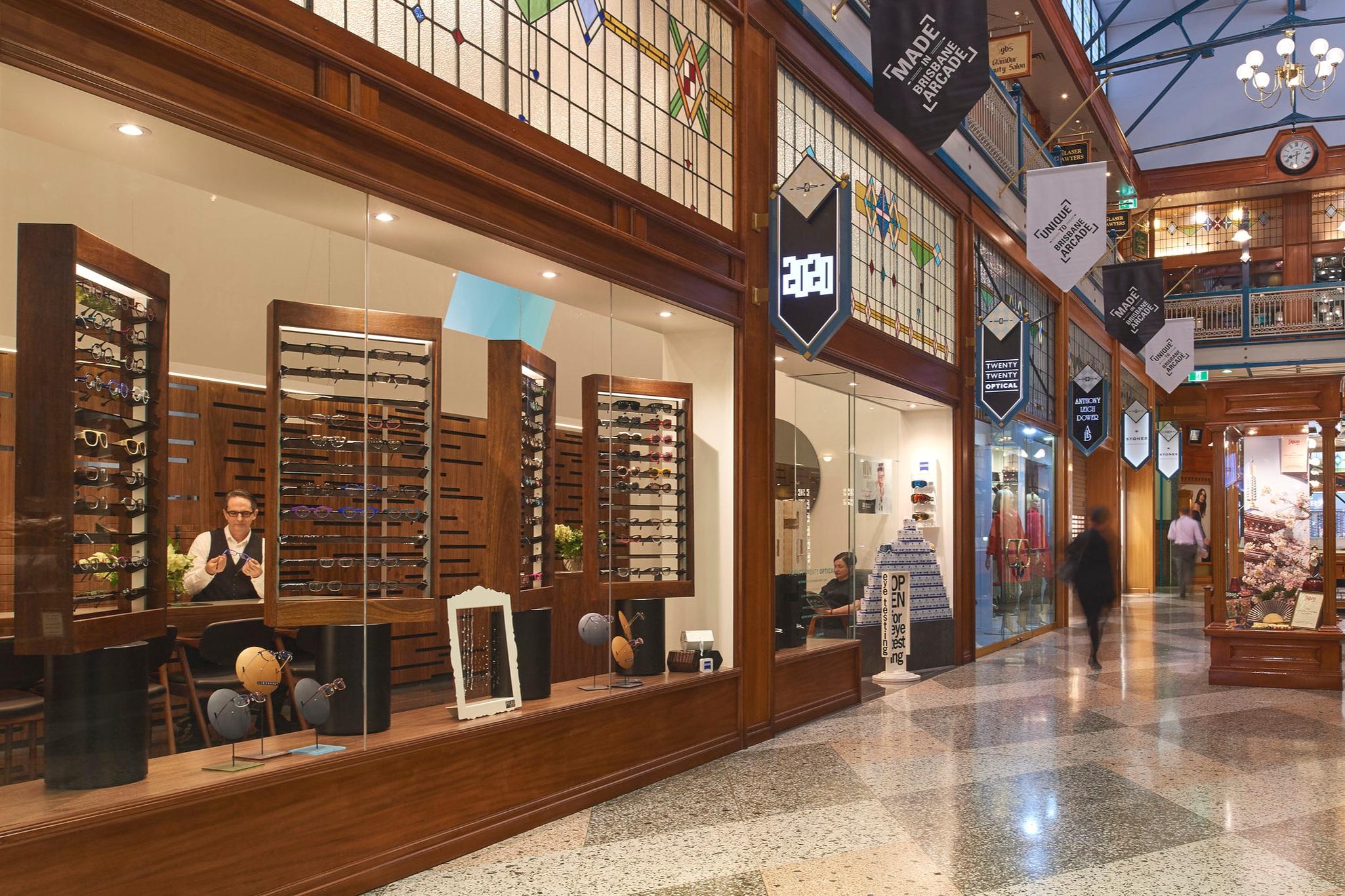 BRISBANE ARCADE 160 Queen Street, Brisbane City QLD 4000 (07) 3483 2020