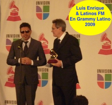 Latinos FM AUS with Luis Enrique at The Latin Grammy.jpg