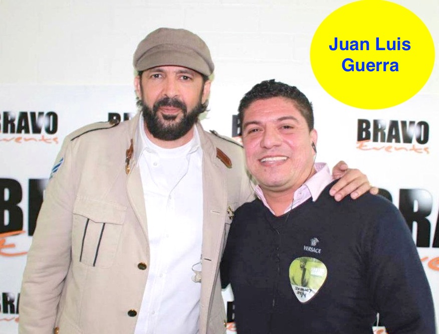 Bachata Icon Juan Luis Guerra with Latinos FM.jpg