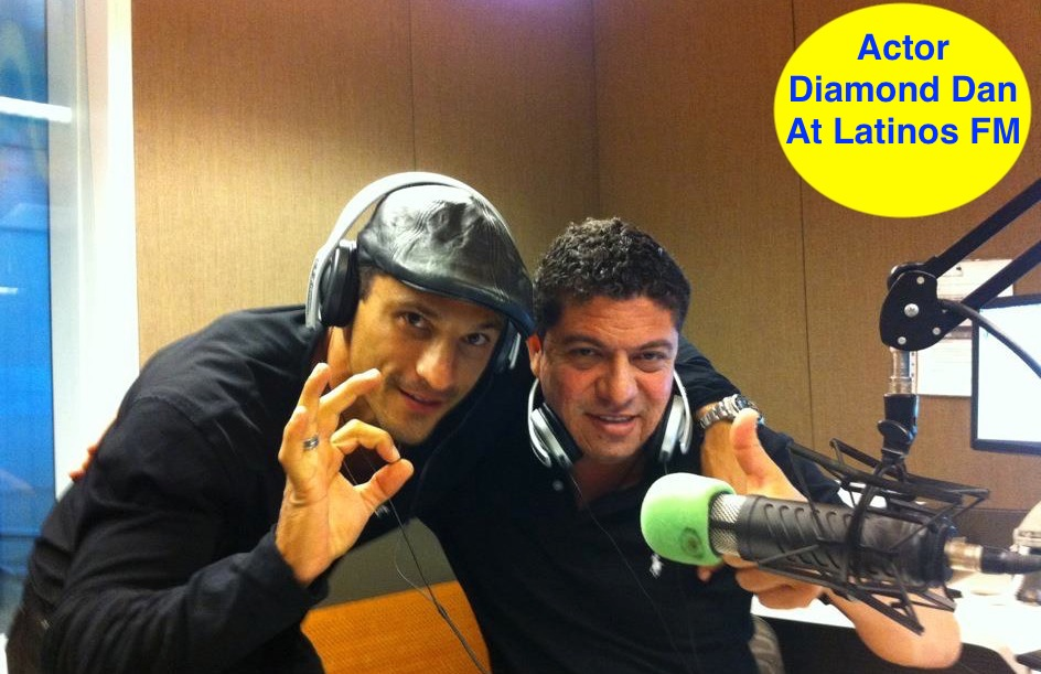 Actor Diamond Dan  At Latinos FM.jpg