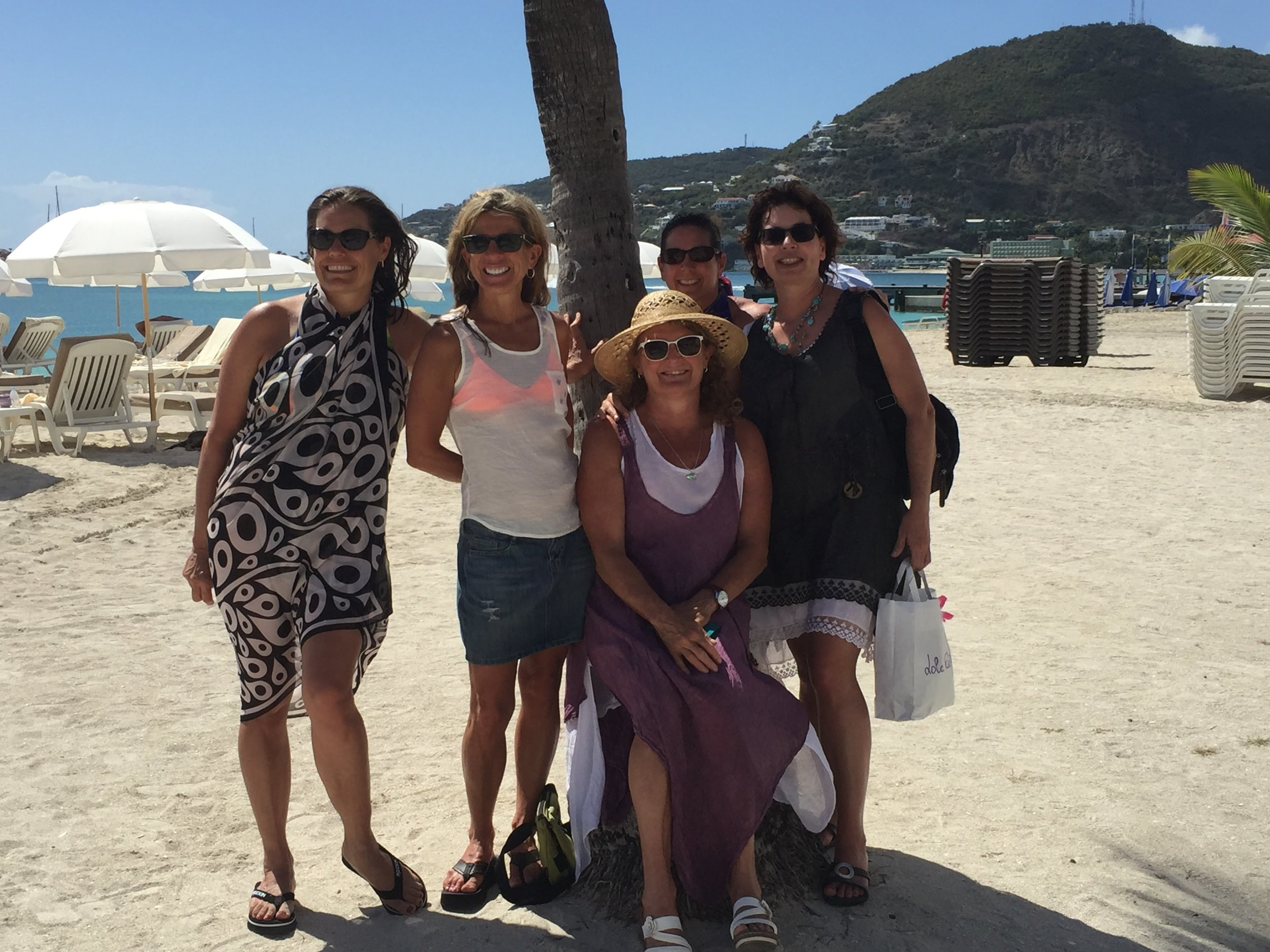50th Birthday Friends in St. Martin - 55 by 55 Travel