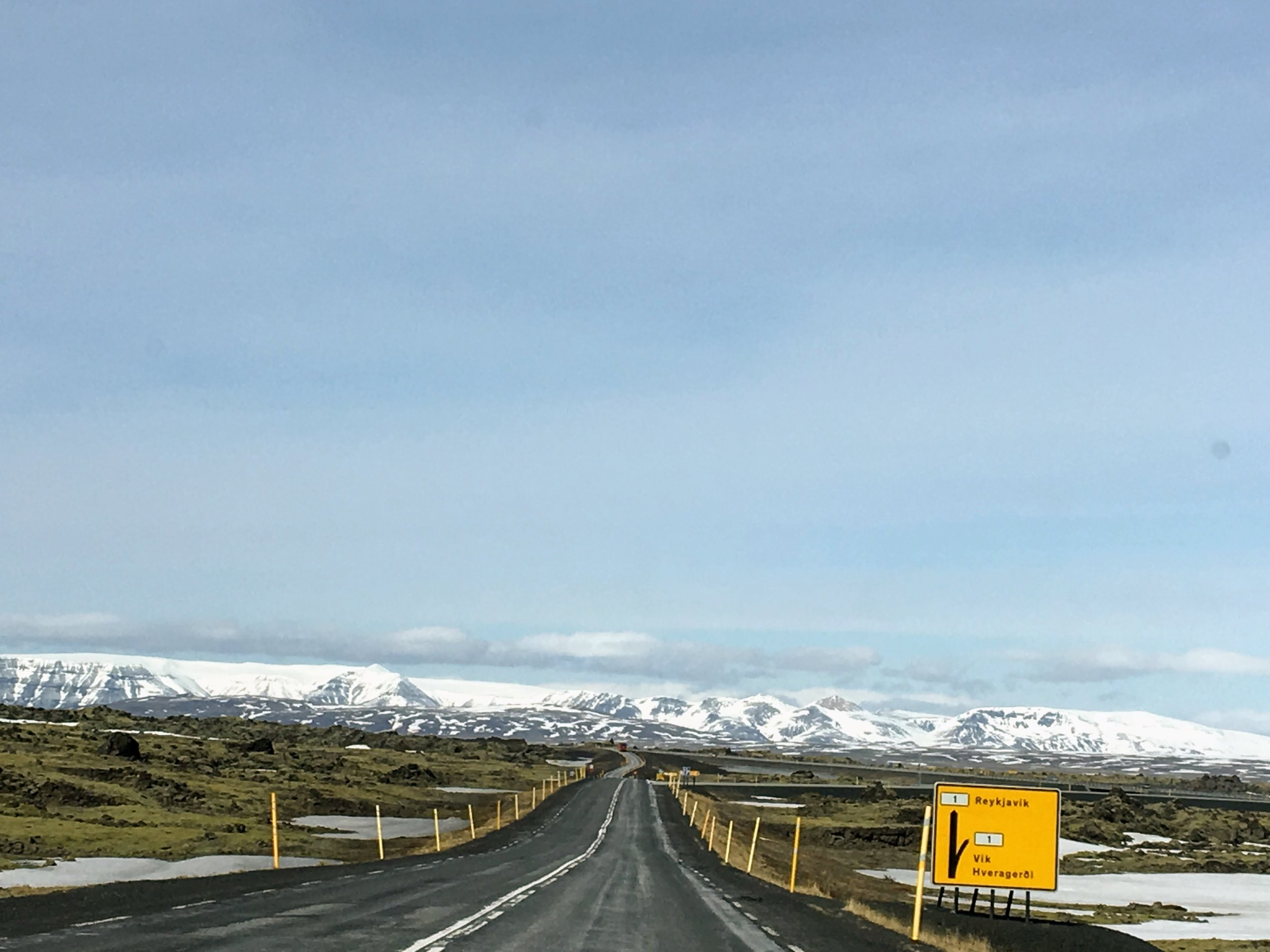 Road in Iceland - 55 by 55 Travel
