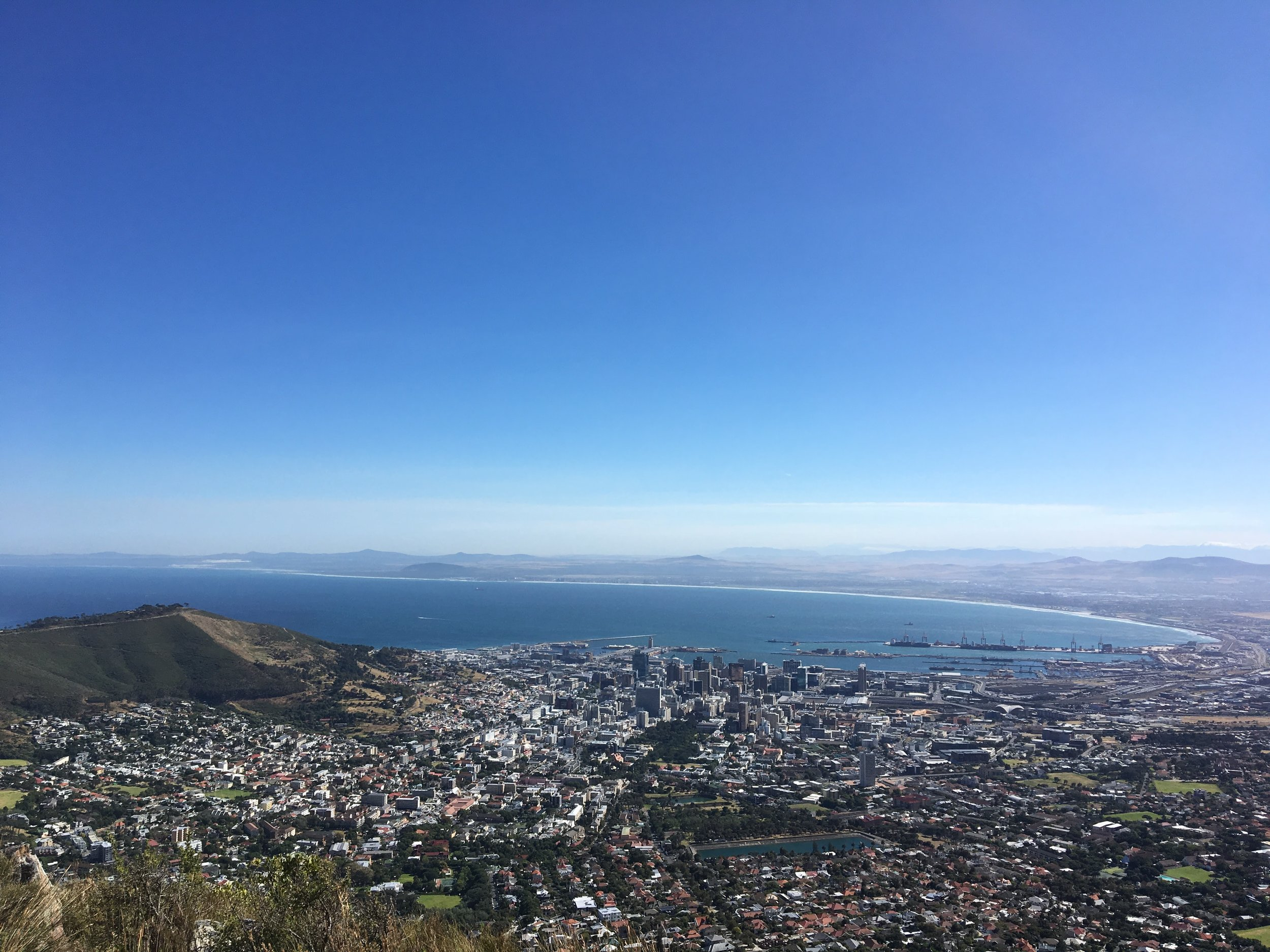 hiking up table mountain with my niece Maia4.JPG